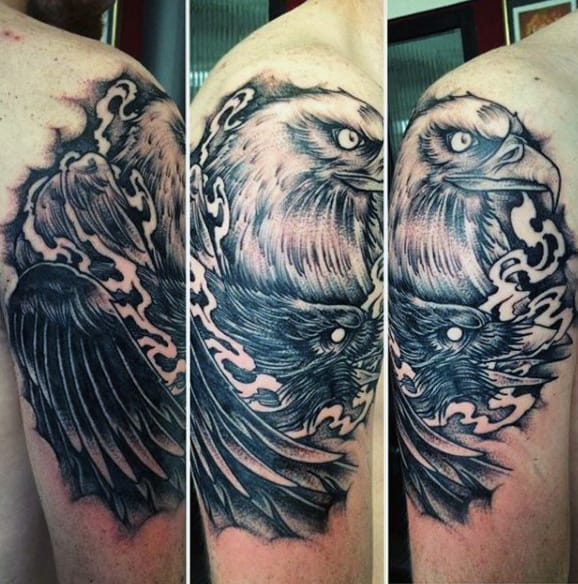 Iron Eagle Tattoo For Men