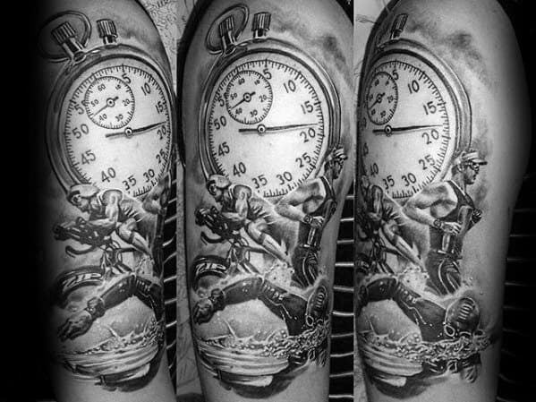 Ironman Tattoo Design On Man
