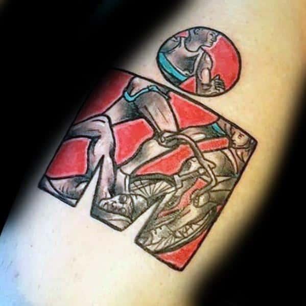 Ironman Tattoo Designs For Men