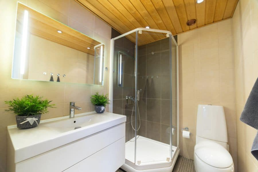 Irregular Shaped Small Shower Ideas 1