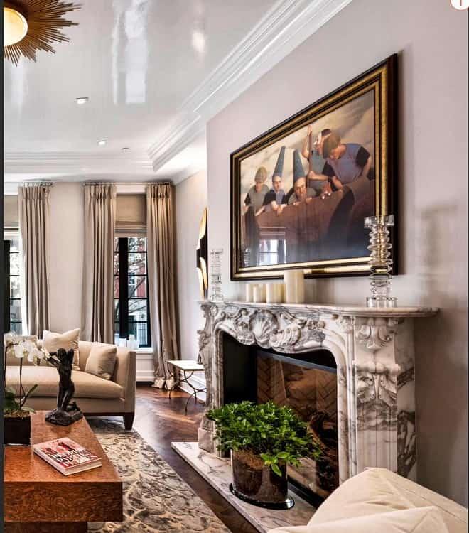 Italian Marble Fireplace Surround Deborahgreatorexinteriors