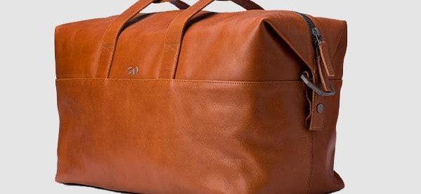 Italian Men's Octovo 48HR Leather Bag