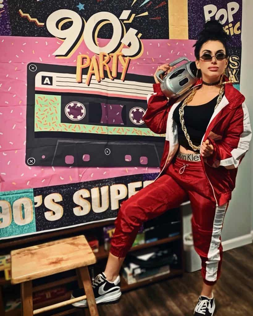 Its None Of Your Business 90s Party Outfit