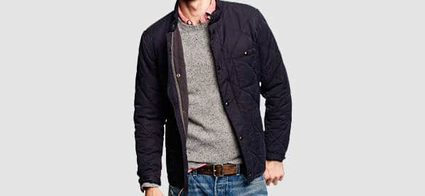 J Crew Broadmoor Quilted Jackets For Men