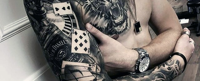 60 Jack Daniels Tattoo Designs For Men – Whiskey Ink Ideas