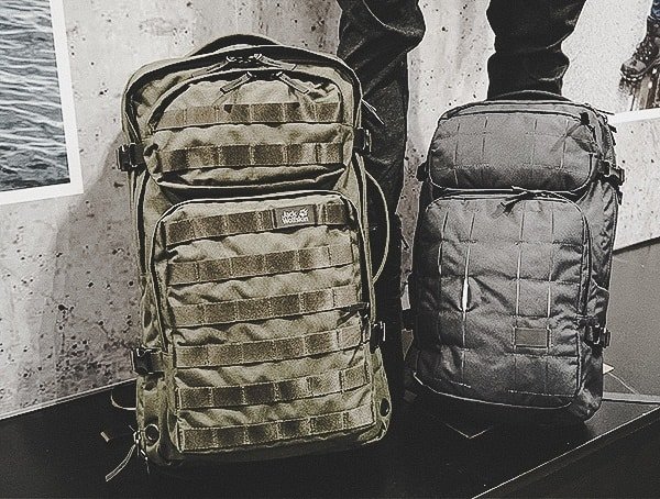 Jack Wolfskin Outdoor Tactical Backpacks For Men