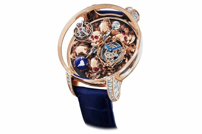 $880,000 Jacob & Co. Astronomia Skull – A Timepiece of Morality