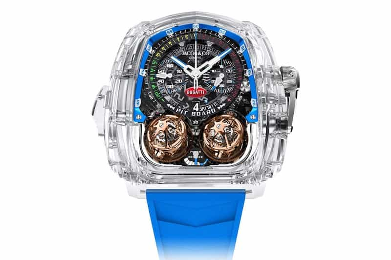 Jacob & Co.'s New Minute Repeater in Sapphire Crystal Case Marks Major First