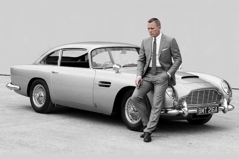 Two-Minute Clip Celebrates James Bond's Six-Decade Aston Martin Collaboration