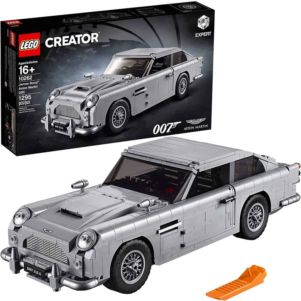 lego creator expert james bond aston martin db5 building kit