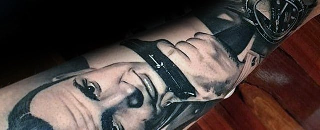 James Bond Tattoo Designs For Men