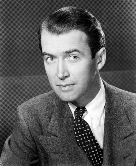James Stewart Combed Back 1930s Mens Hairstyle