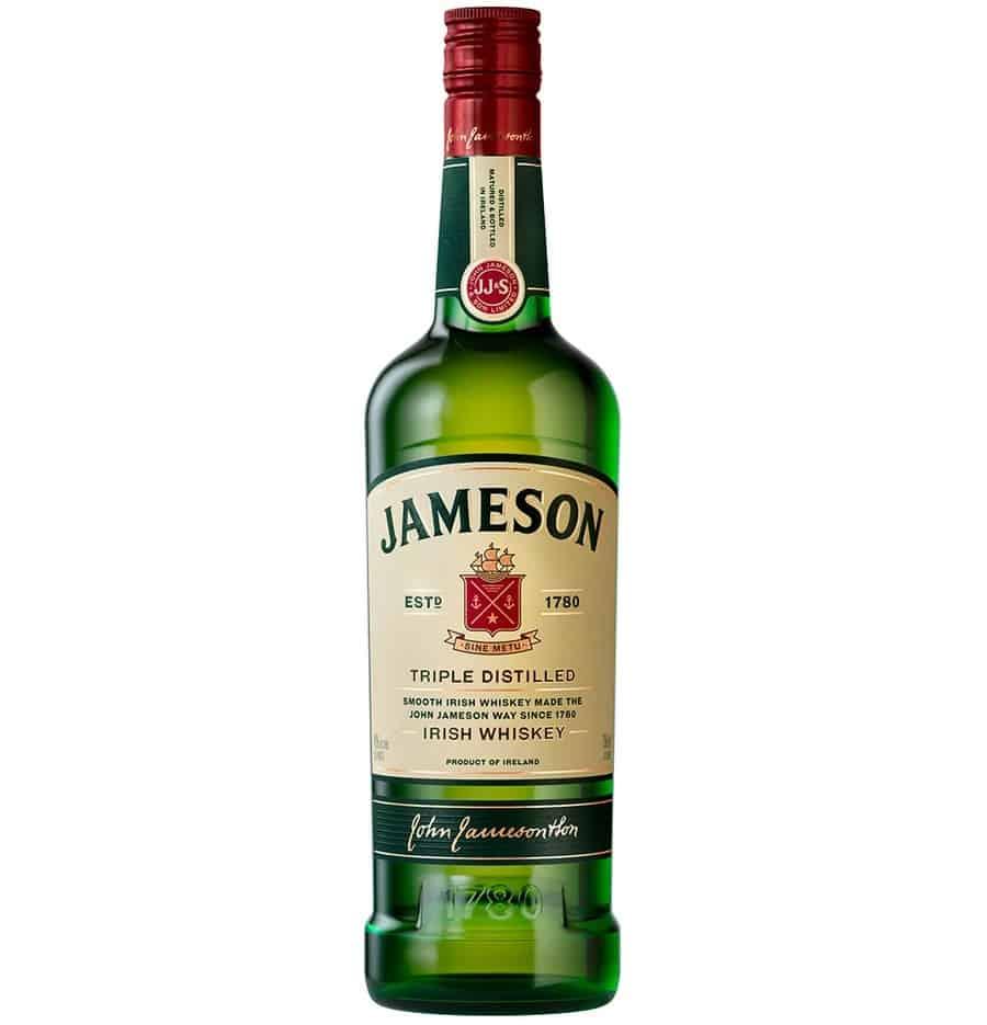 jameson irish whiskey bottle