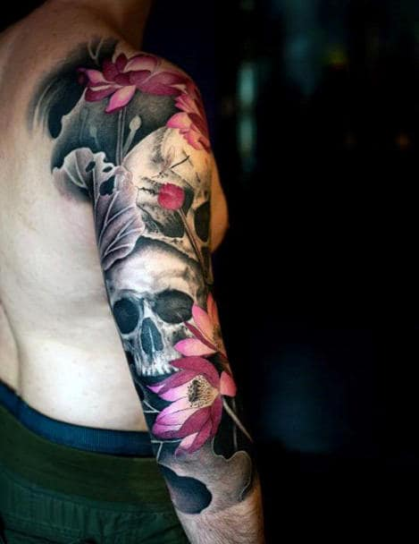 Japanese Arm Tattoo For Men