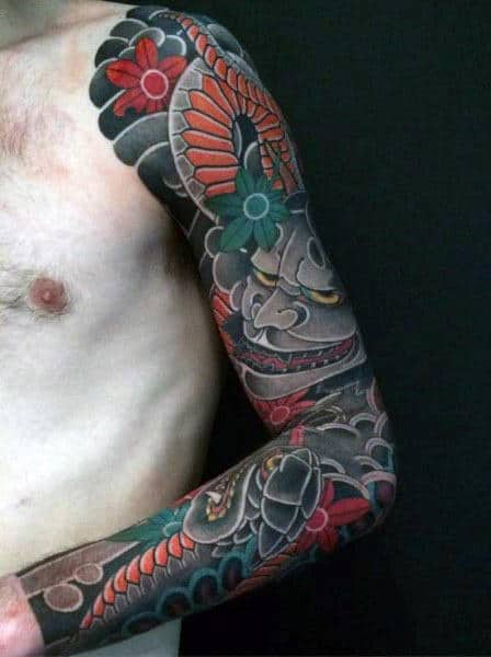 Japanese Designs For Men's Tattoos