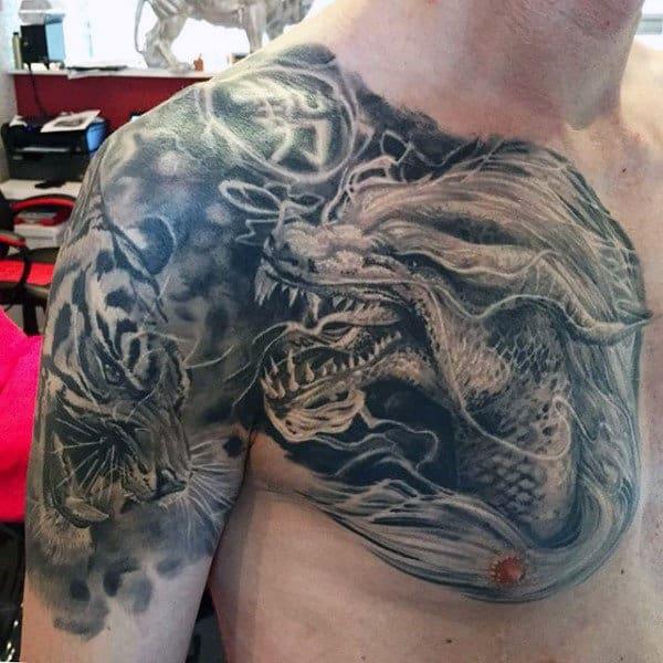 Japanese Dragon Tattoo For Men