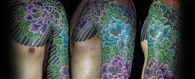 Japanese Flower Tattoo Designs For Men