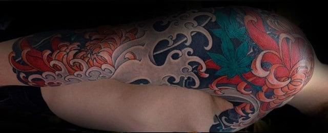 60 Japanese Half Sleeve Tattoos For Men – Manly Design Ideas