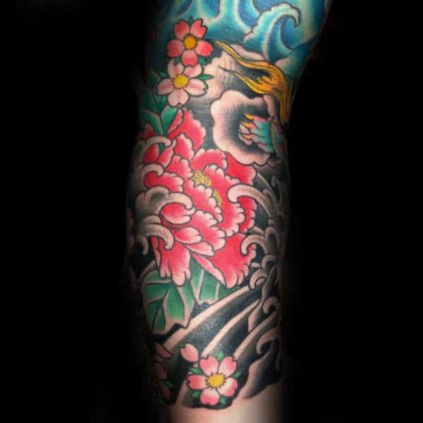25 Best Ideas About Japanese Peony Tattoo On Pinterest: Best 25 Japanese Peony Ideas
