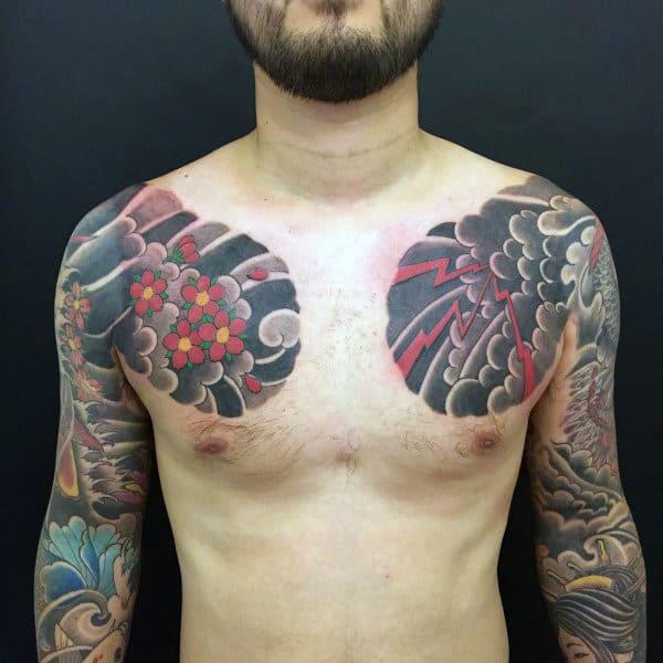 Japanese Nice Mens Sleev Tattoos