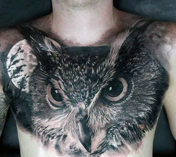Japanese Owl Tattoo For Men