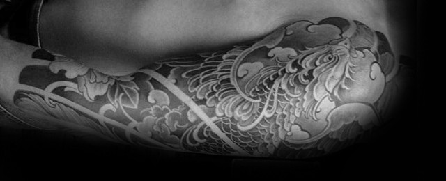 Japanese Phoenix Tattoo Designs For Men