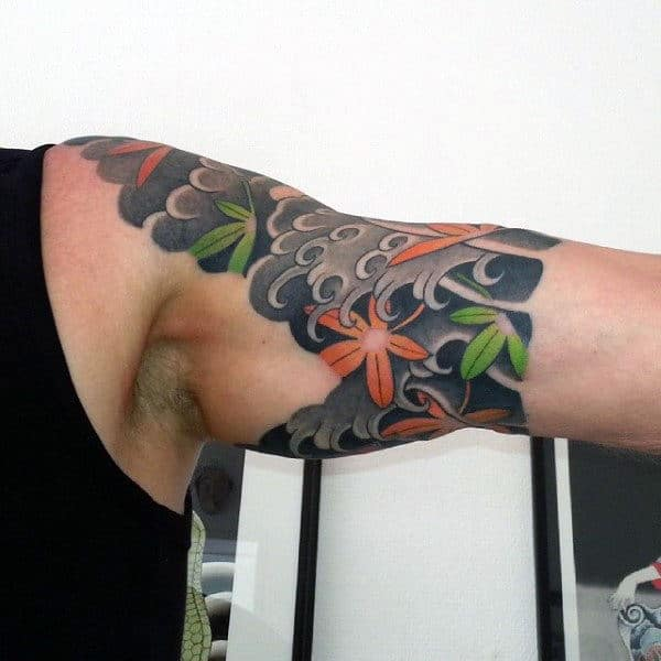 80 maple leaf tattoo designs for men