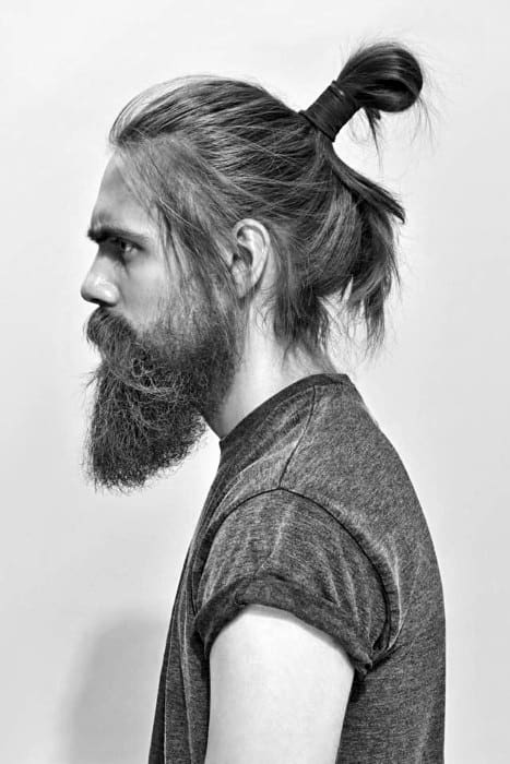 samurai hairstyles : 40 Samurai Hairstyles For Men - Modern Masculine Man Buns