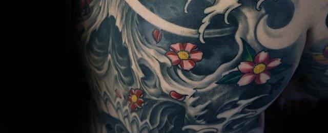Japanese Skull Tattoo Designs For Men