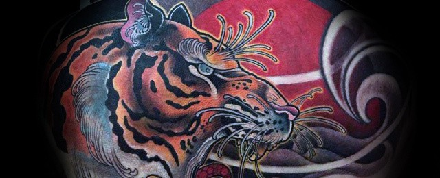 Japanese Tiger Tattoo Designs For Men