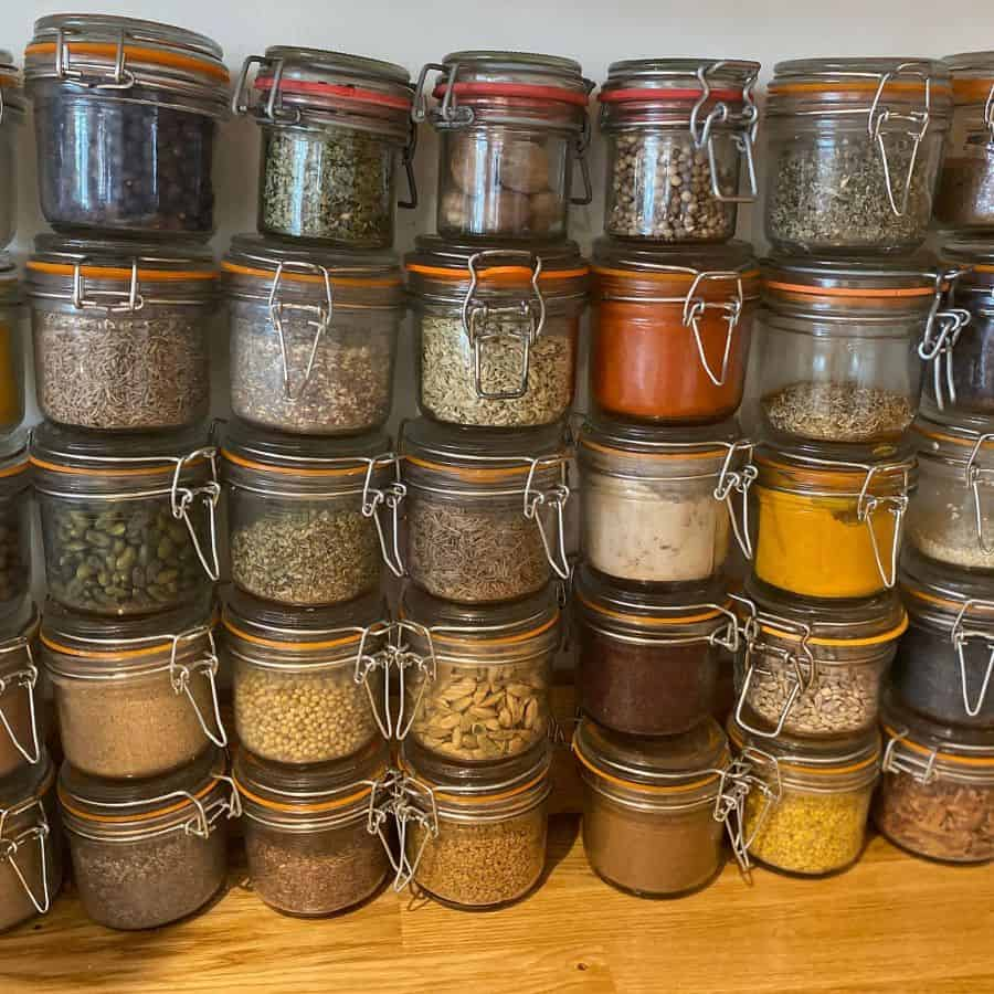 jars kitchen storage ideas allaboutthetastebelfast