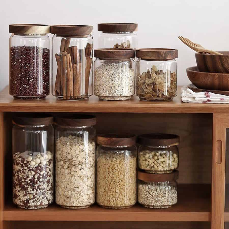 jars kitchen storage ideas nicensimple_