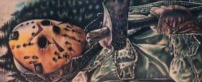 60 Jason Mask Tattoo Designs For Men – Friday The 13th Ideas