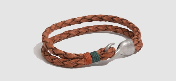J Crew Factory Leather Men's Bracelets