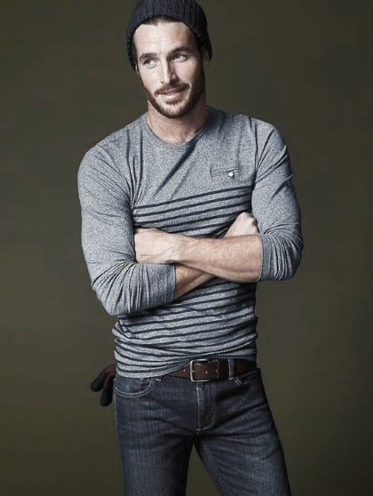 Jeans With Long Sleeve T Shirt Male Fashion Ideas With Casual Wear Style