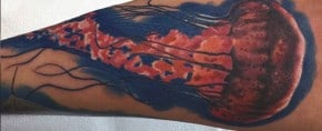 100 Jellyfish Tattoo Designs For Men – Free-Swimming Marine Ink Ideas