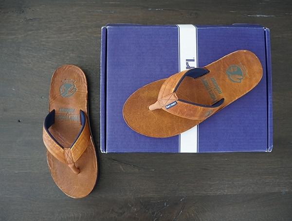 Jersey Lined Stich And Turn Straps Mens Hari Mari X Nokona Sandals