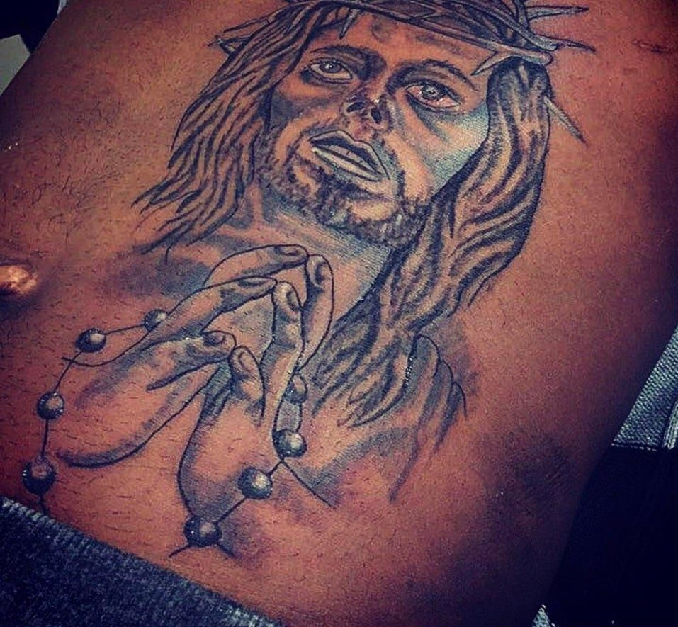 jesus tattoo fail