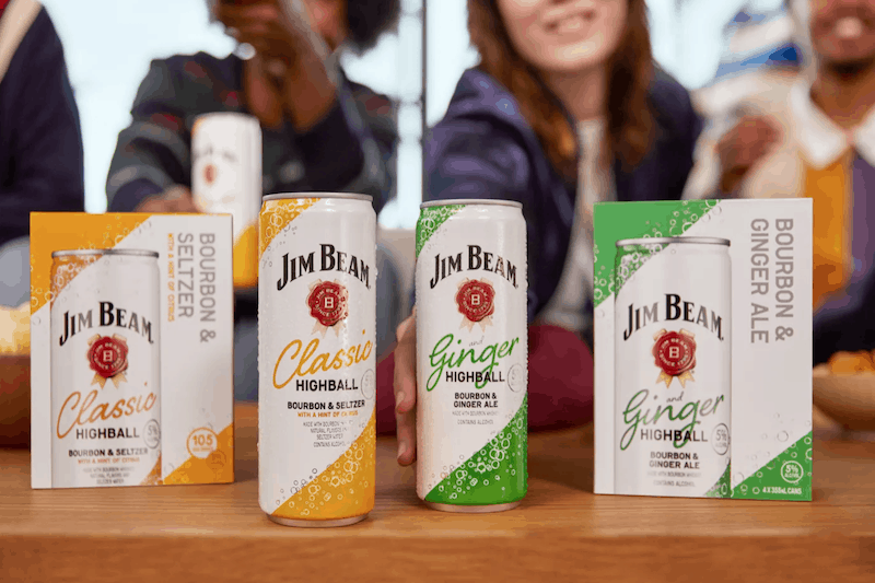 Jim Beam Delivers a Carbonated Explosion With New Highball Cocktail Cans