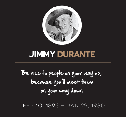 Jimmy Durante Quotes