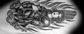 40 Joan Of Arc Tattoo Designs For Men – Saint Ink Ideas