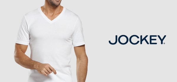 Jockey V Neck T-Shirts For Men