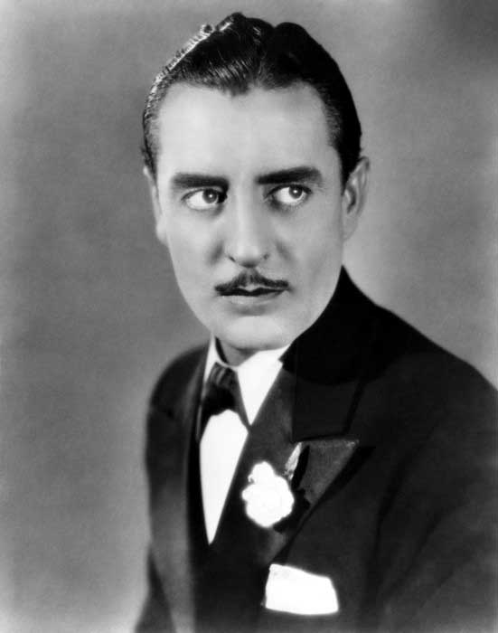 John Gilbert With Slicked Short Length Mens 1920s Hair