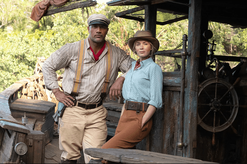 Dwayne Johnson and Emily Blunt Hop Aboard Disney's 'Jungle Cruise'