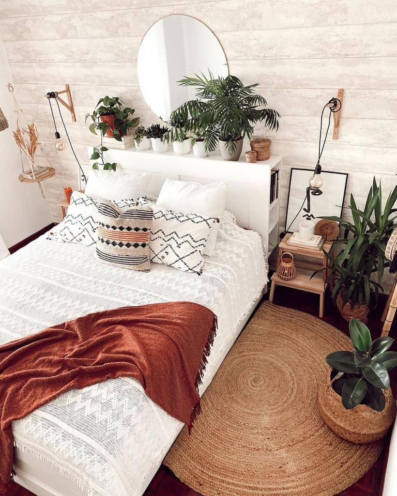 jungle inspired boho bedroom ideas houseoftherisingdogs