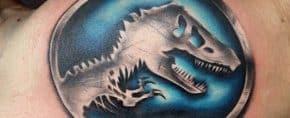 50 Jurassic Park Tattoo Designs For Men – Dinosaur Ink Ideas