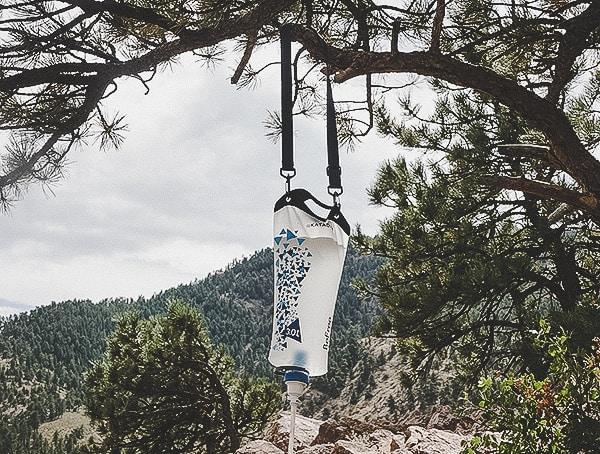 Katadyn Gravity Befree Water Filtration System On Tree Branch