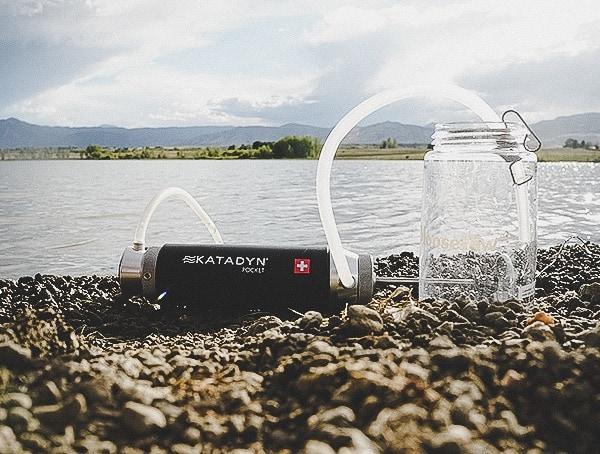 Katadyn Pocket Filter With Clear Nalgene Bottle