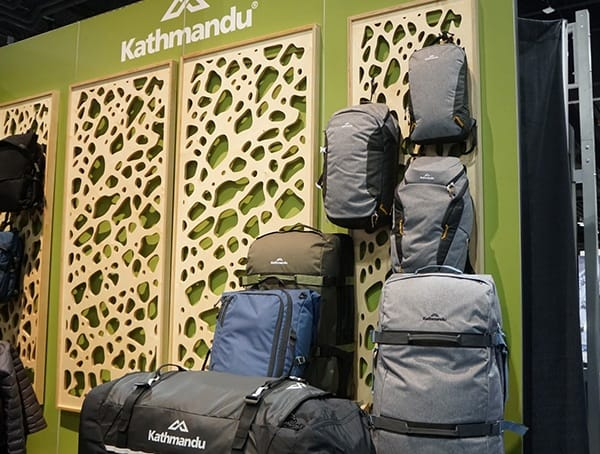 Kathmandu Outdoor Retailer Winter Market 2018 Collection Packs
