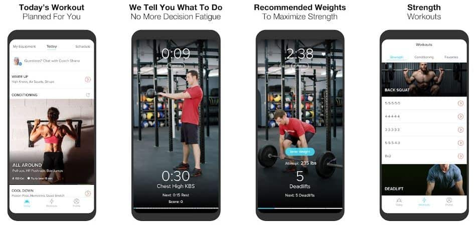 keelo android version workout for men app screenshot